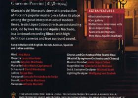 La Bohème (Puccini) - Contraportada